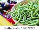Bushel Baskets Of Fresh Green...