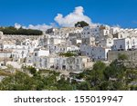 panoramic view of monte sant... | Shutterstock . vector #155019947