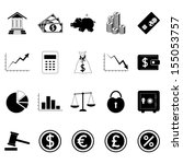 finance icons. vector...   Shutterstock .eps vector #155053757