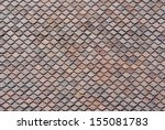 Pattern Of Roof Tiles.