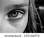 woman eyes close up | Shutterstock . vector #155146973