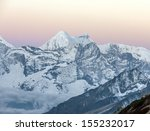 View Of The Himalayan Peaks...