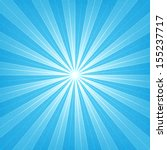blue sunburst blank background. ... | Shutterstock .eps vector #155237717