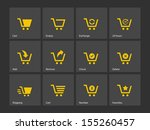 shopping cart icons.