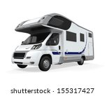 camper van isolated | Shutterstock . vector #155317427
