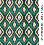 seamless ethnic  vector print... | Shutterstock .eps vector #155357303