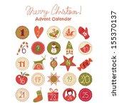 Advent Calendar With Various...