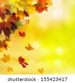 autumn background  | Shutterstock . vector #155423417