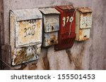Old Fashioned Russian Mailboxe...