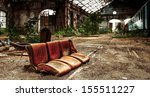 Seat Of A Train At Abandoned...
