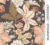 vintage flower pattern | Shutterstock .eps vector #155545067