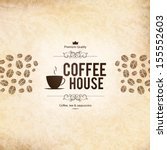 menu for restaurant  cafe  bar  ... | Shutterstock .eps vector #155552603