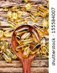 Close Up Of Cod Liver Oil...