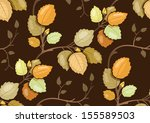 repeating pattern with swirling ... | Shutterstock .eps vector #155589503