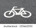bike lane | Shutterstock . vector #155662553