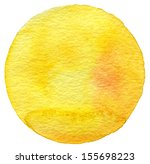 abstract watercolor circle... | Shutterstock . vector #155698223