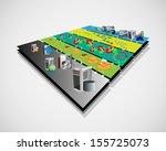 vector illustration of service... | Shutterstock .eps vector #155725073