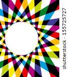 colorful rainbow spirograph