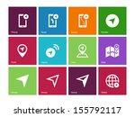 navigator icons on color...