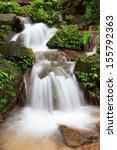 ton prai waterfall near khao... | Shutterstock . vector #155792363