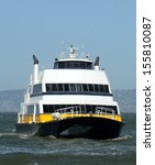ferry boat carrying passengers...