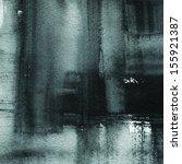 black abstract watercolor macro ...   Shutterstock . vector #155921387