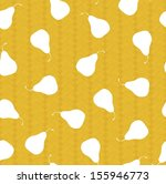 abstract pattern pear vector | Shutterstock .eps vector #155946773