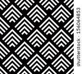 seamless geometric vector... | Shutterstock .eps vector #156064853