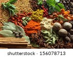 Herbs And Spices Composition....