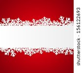 red christmas background with... | Shutterstock .eps vector #156122693