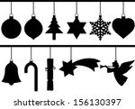 Silhouette Christmas Tree...