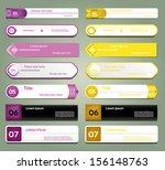 modern infographics options... | Shutterstock .eps vector #156148763