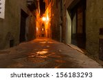 Mysterious Narrow Alley With...