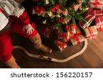 Unrecognizable Santa Claus...