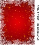 red background with  frame of... | Shutterstock .eps vector #156317837