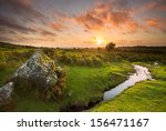 Sunset From The Lower Slopes O...