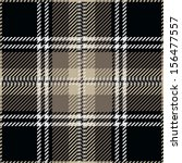 Black Tartan Plaid Pattern