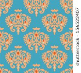 damask  heraldry seamless... | Shutterstock .eps vector #156522407