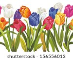 vector seamless pattern with... | Shutterstock .eps vector #156556013