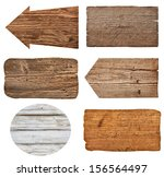 collection of various  empty... | Shutterstock . vector #156564497