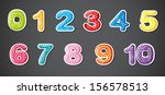 illustration of the eleven... | Shutterstock . vector #156578513