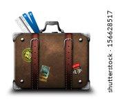suitcase | Shutterstock . vector #156628517