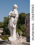 antique statue in park of...   Shutterstock . vector #156650063
