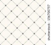 vector seamless retro pattern ... | Shutterstock .eps vector #156700757