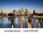 frankfurt am main. image of... | Shutterstock . vector #156709187