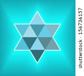 Magen David Modern Background