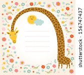 Greeting Card  Place For Your...