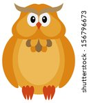 happy halloween orange fall... | Shutterstock .eps vector #156796673