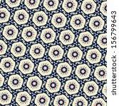 floral ethnic geometrical...   Shutterstock .eps vector #156799643