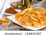 Potato Chips With Portion Of...